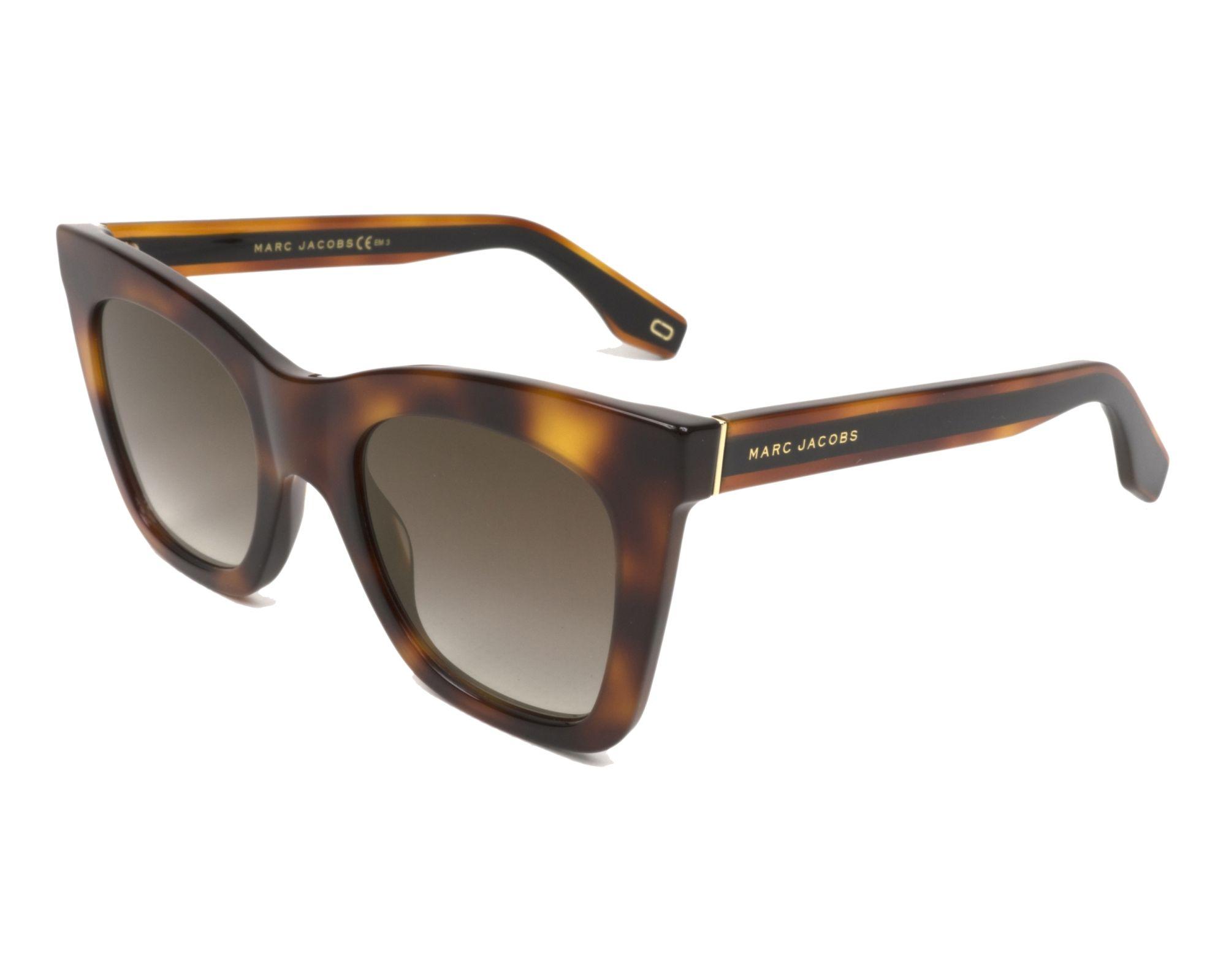 MARC JACOBS Marc Jacobs Damen Sonnenbrille » MARC 279/S«, schwarz, 807/9O - schwarz/grau