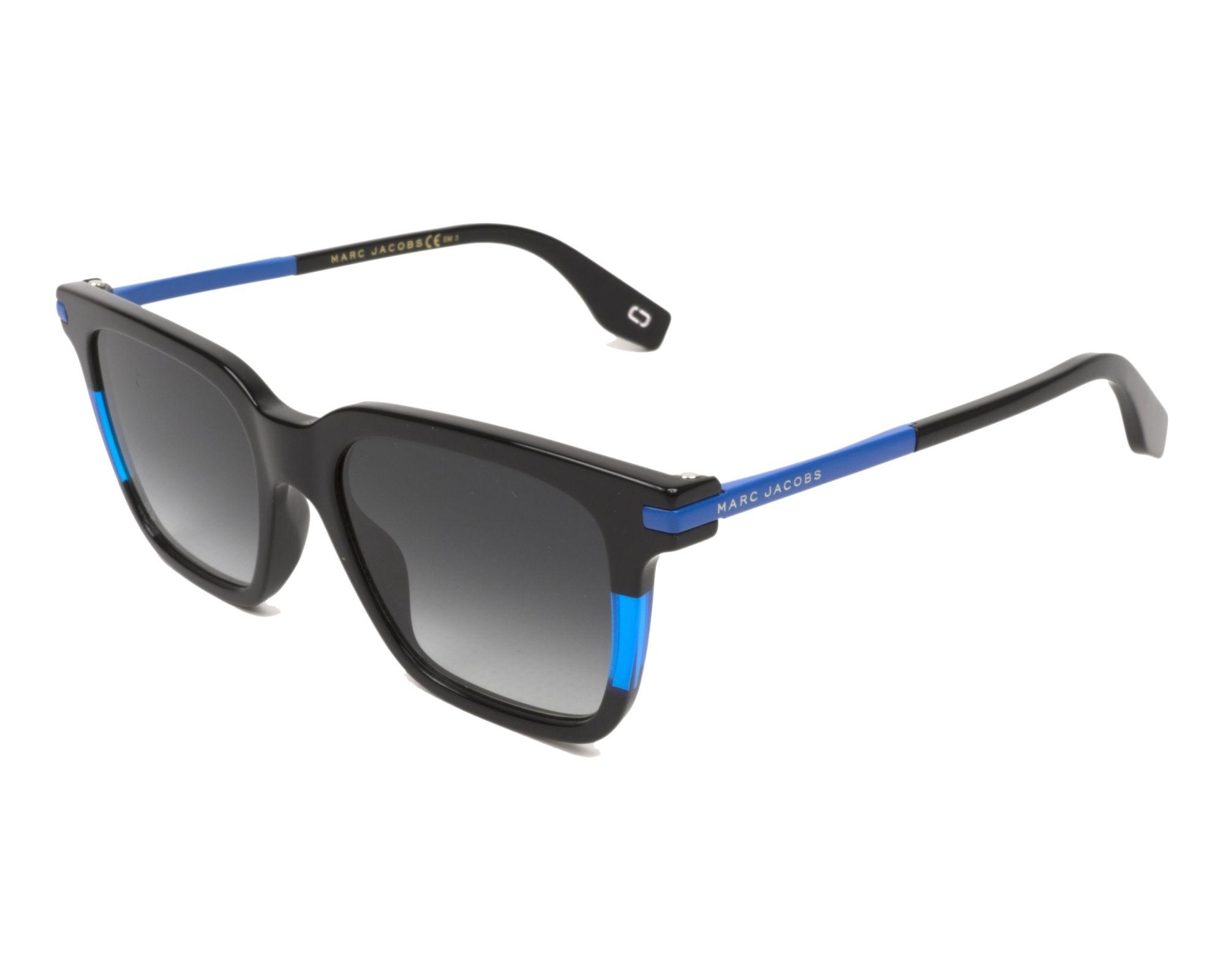 MARC JACOBS Marc Jacobs Sonnenbrille » MARC 293/S«, schwarz, D51/9O - schwarz/grau