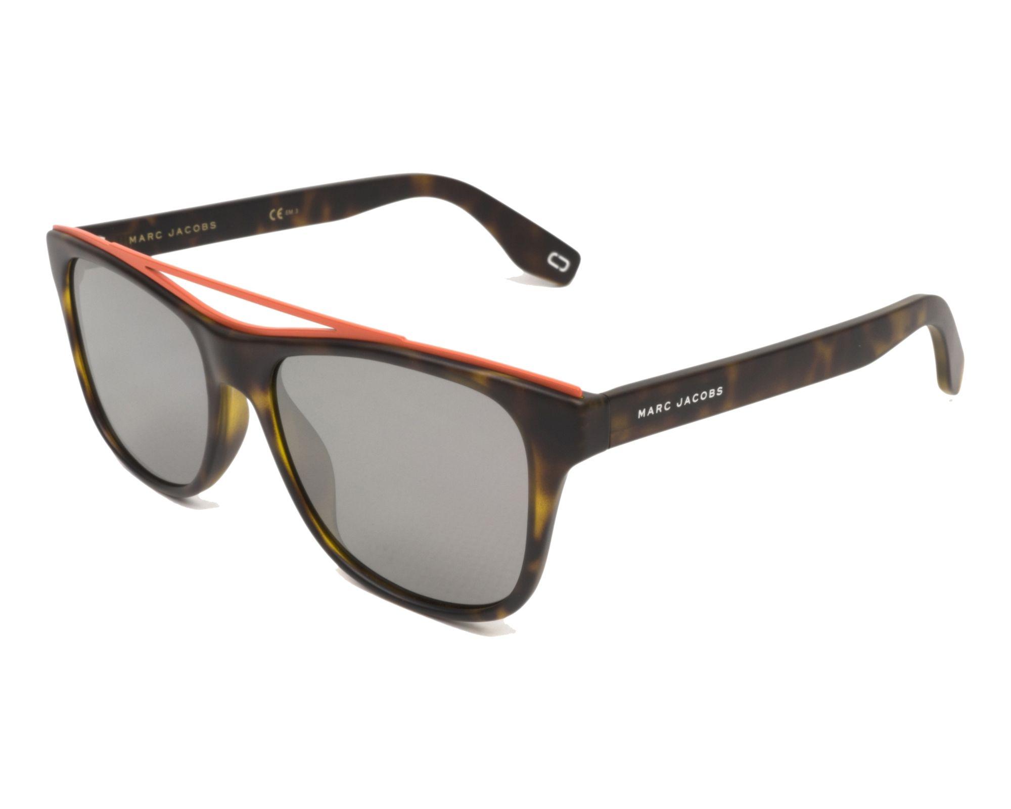 MARC JACOBS Marc Jacobs Sonnenbrille » MARC 303/S«, schwarz, 003/XT - schwarz/blau