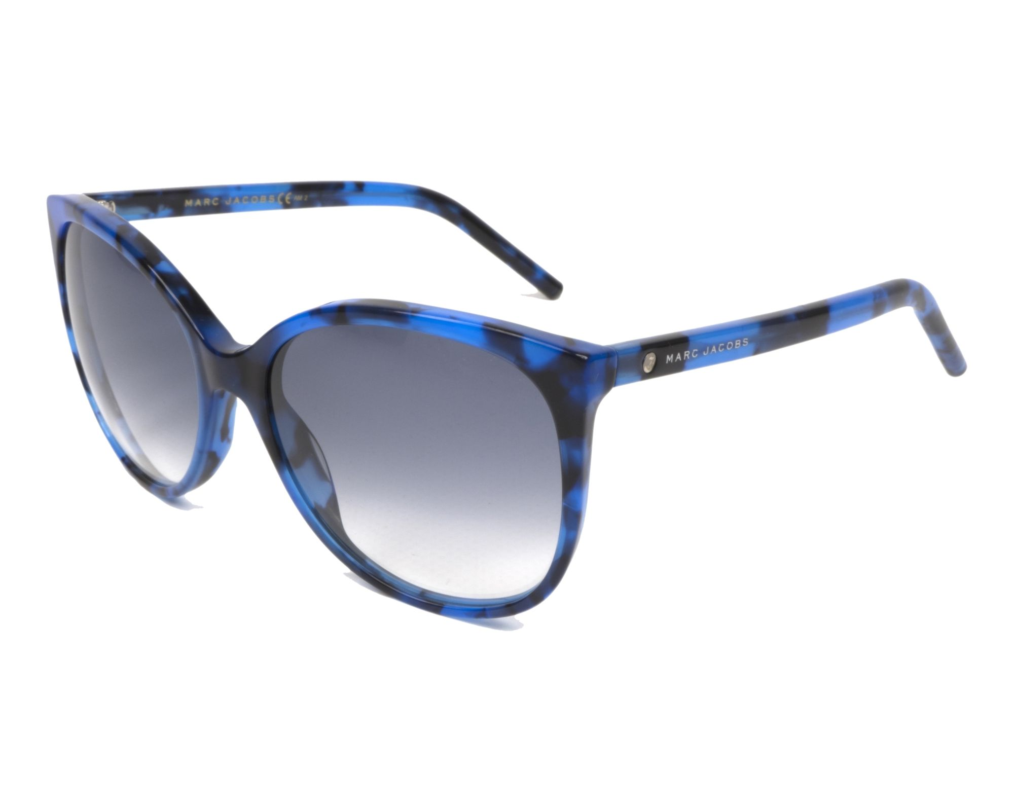 MARC JACOBS Marc Jacobs Damen Sonnenbrille » MARC 79/S«, schwarz, 807/WJ - schwarz/grau