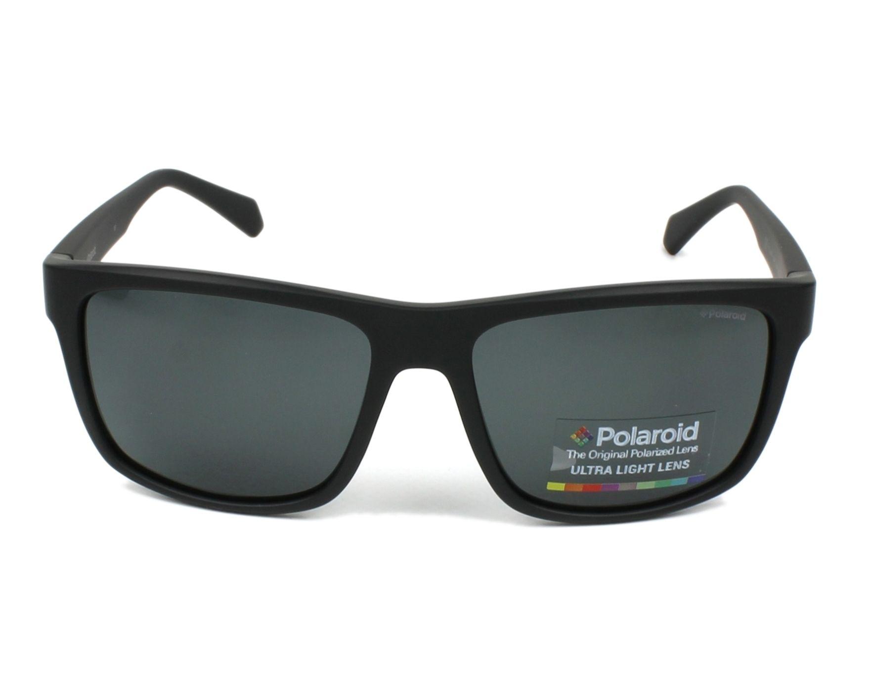 Polaroid Herren Sonnenbrille » PLD 2058/S«, schwarz, 003/M9 - schwarz/grau
