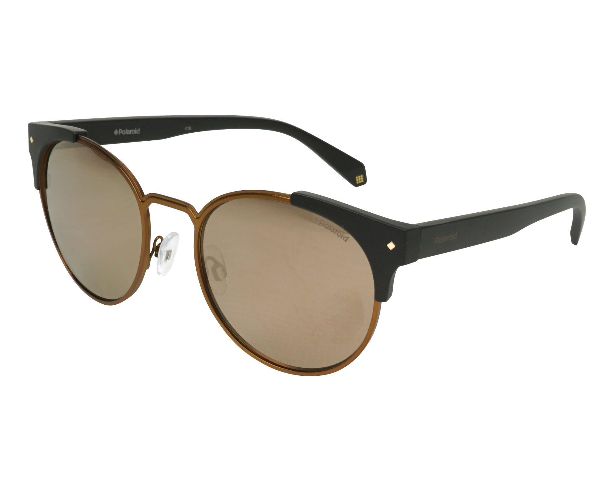 Polaroid Sonnenbrille » PLD 6038/S/X«, schwarz, 807/M9 - schwarz/grau
