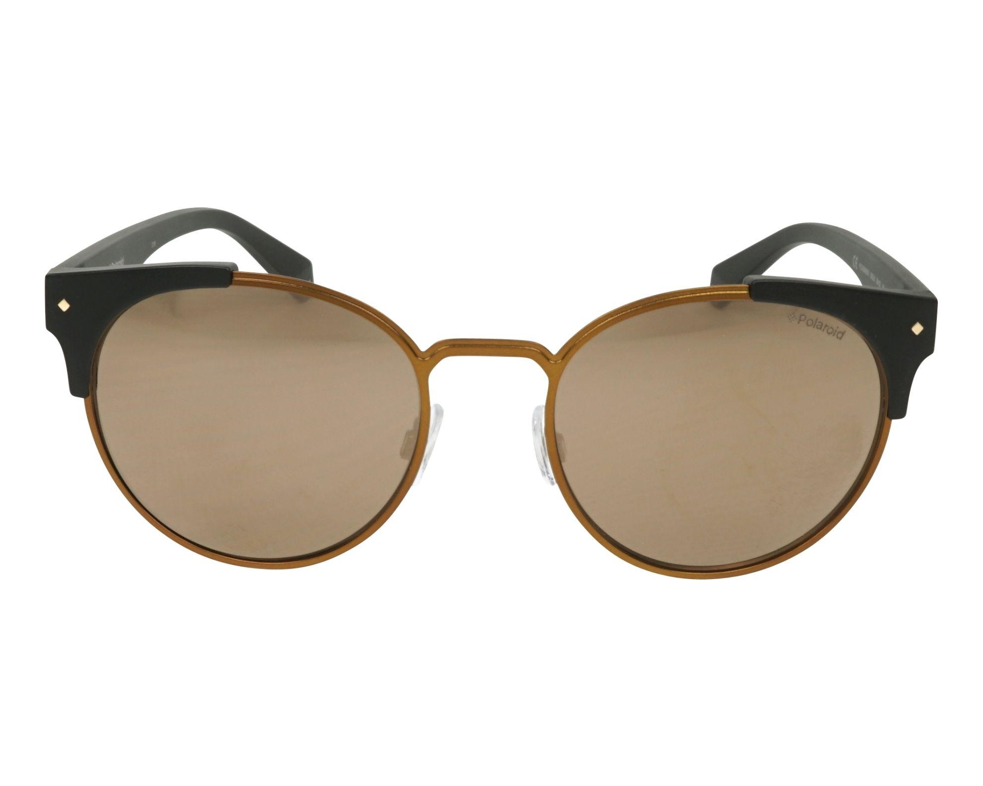 Polaroid Sonnenbrille » PLD 6038/S/X«, schwarz, 003/LM - schwarz/ gold