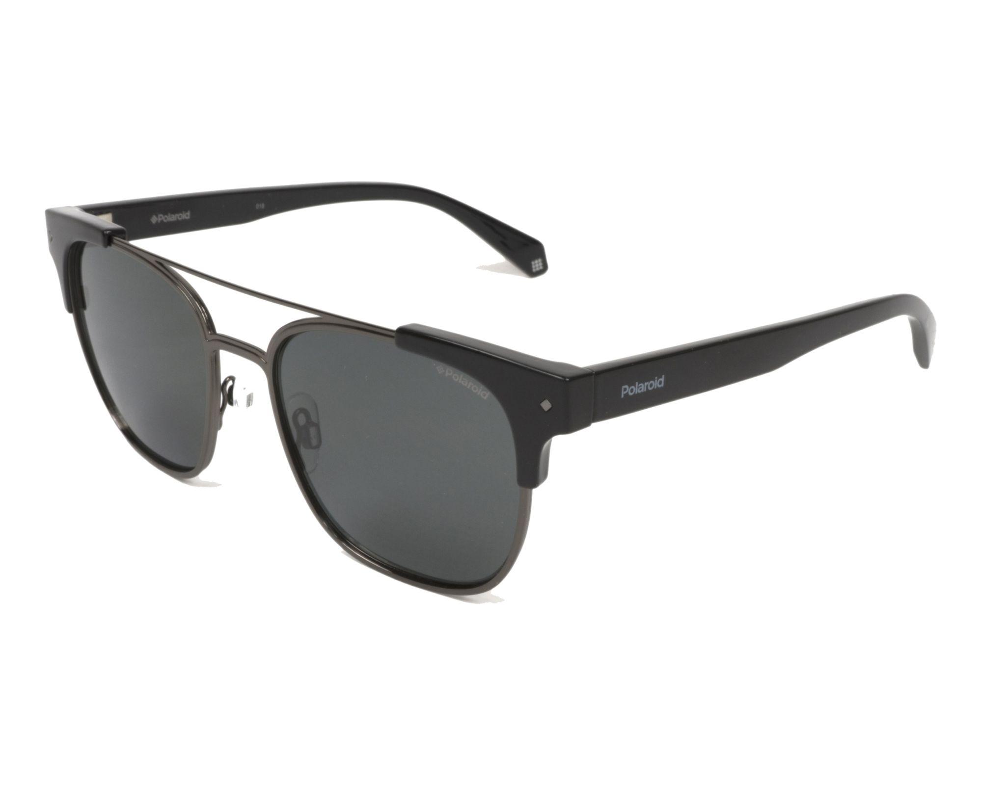 Polaroid Sonnenbrille » PLD 6039/S/X«, schwarz, 807/M9 - schwarz/grau