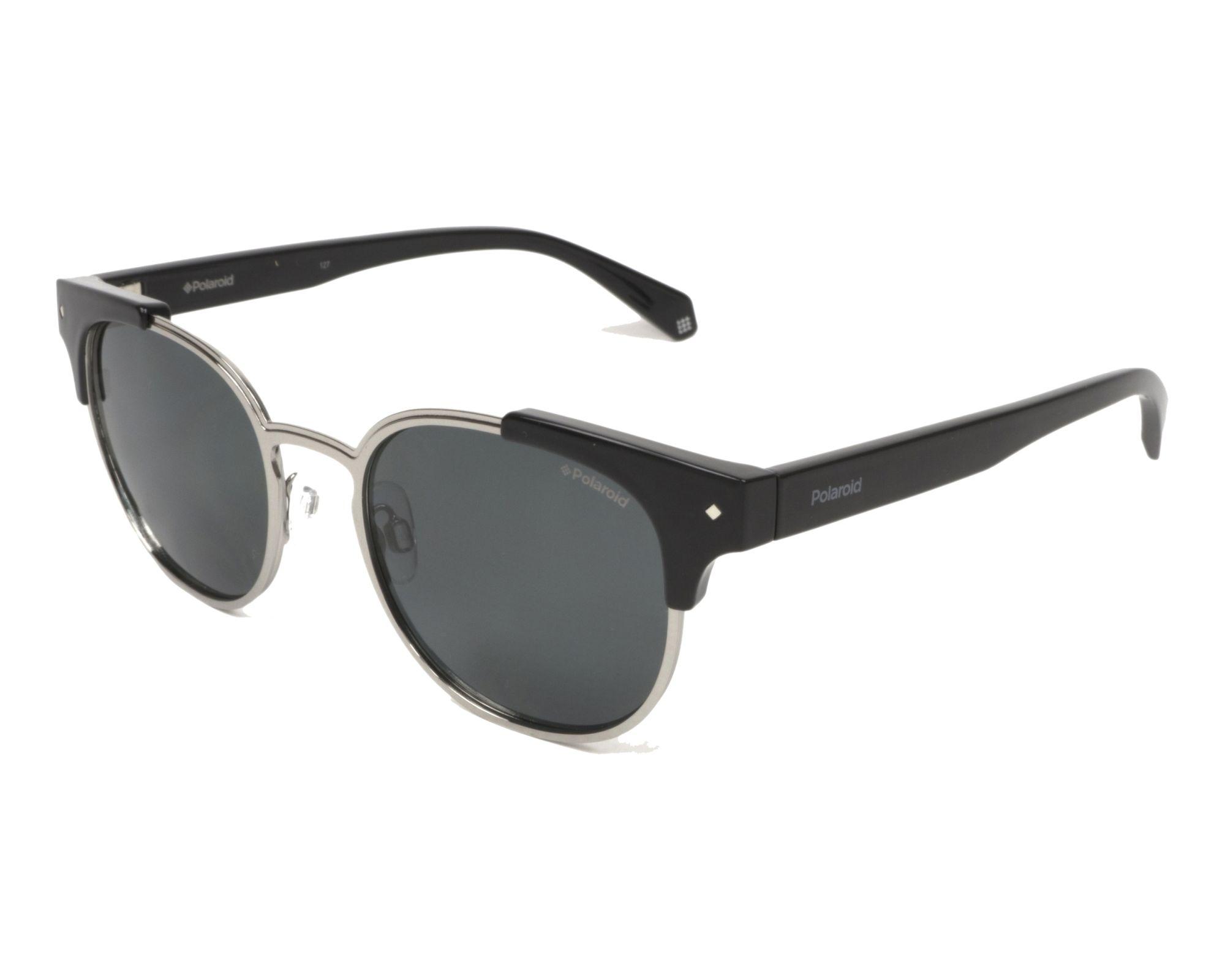 Polaroid Sonnenbrille » PLD 6040/S/X«, schwarz, 003/LM - schwarz/ gold