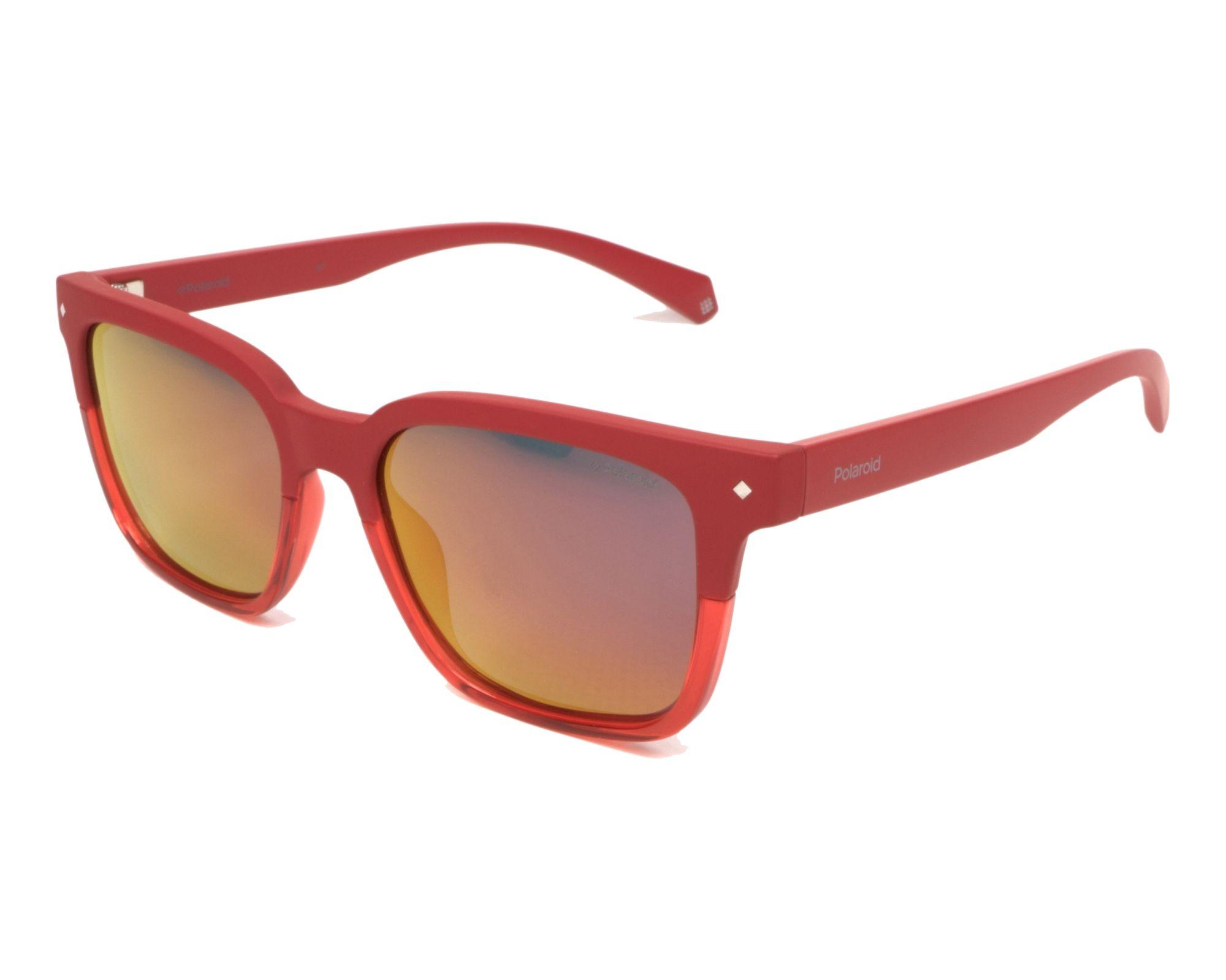 Polaroid Sonnenbrille » PLD 6044/S«, rot, C9A/OZ - rot/rot