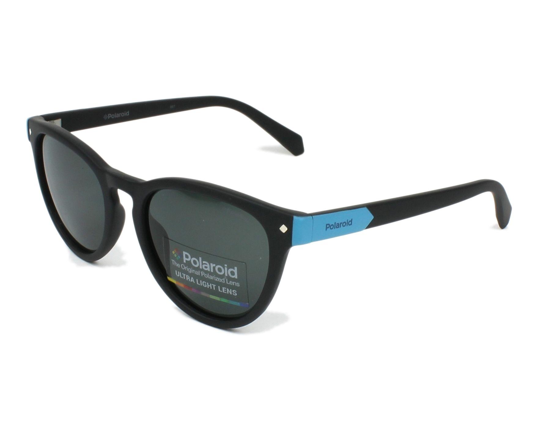 Polaroid Kinderbrillen Sonnenbrille » PLD 8026/S«, schwarz, 003/M9 - schwarz/grau