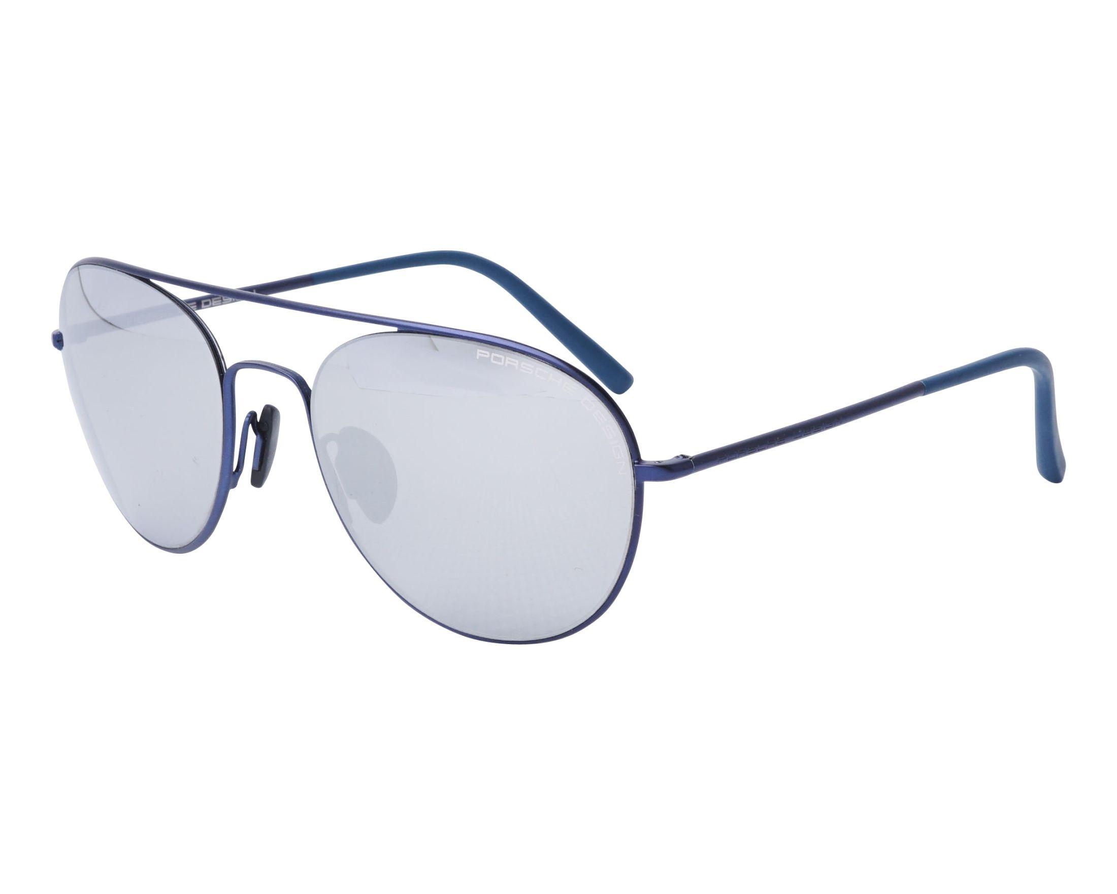 PORSCHE Design Porsche Design Herren Sonnenbrille » P8606«, grau, B - grau/braun