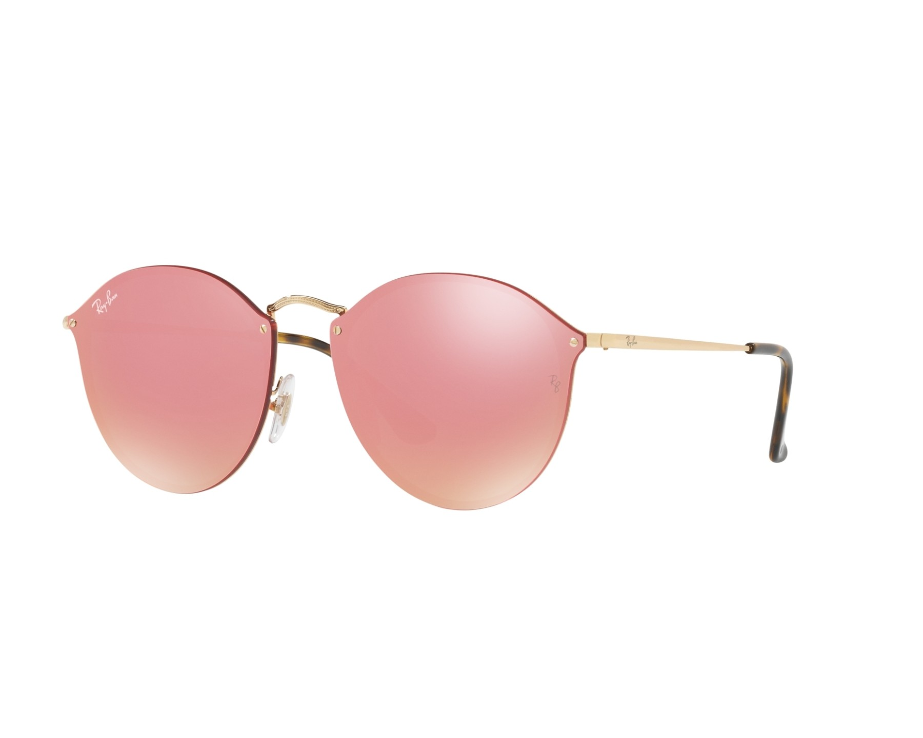 Ray-Ban RB3574N 001/E4 59-14 in gold 1yAlc