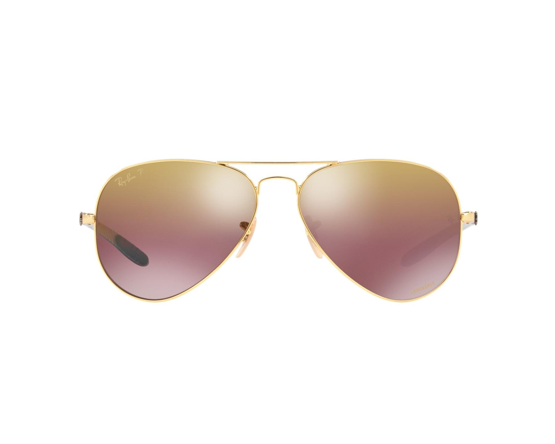 Ray-Ban Sonnenbrille RB-8317-CH 001/6B gold - Gläser: braunfarben ...