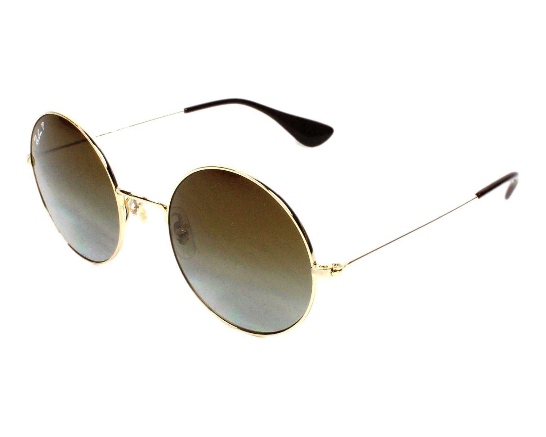 Ray-Ban Sonnenbrille RB-3592 001/T5 gold - Gläser: blau-grau - Visionet
