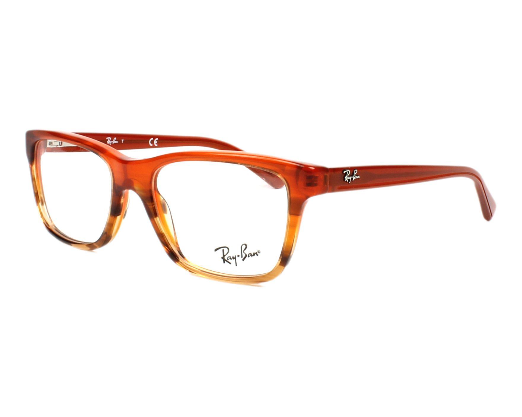 f1c8fd1761b416 Brillen Ray-Ban RY-1536 3732 48-16 braun braun Profilansicht