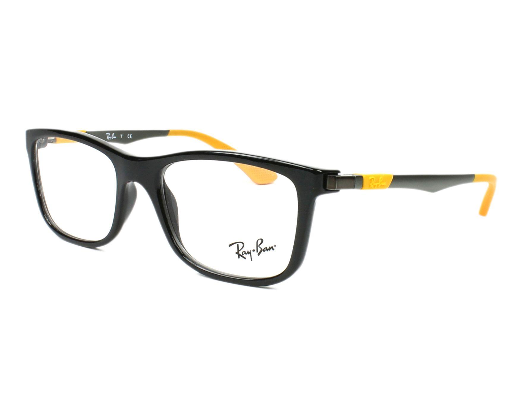 6d013cde50d8fa Brillen Ray-Ban RY-1549 3733 - schwarz braun Profilansicht