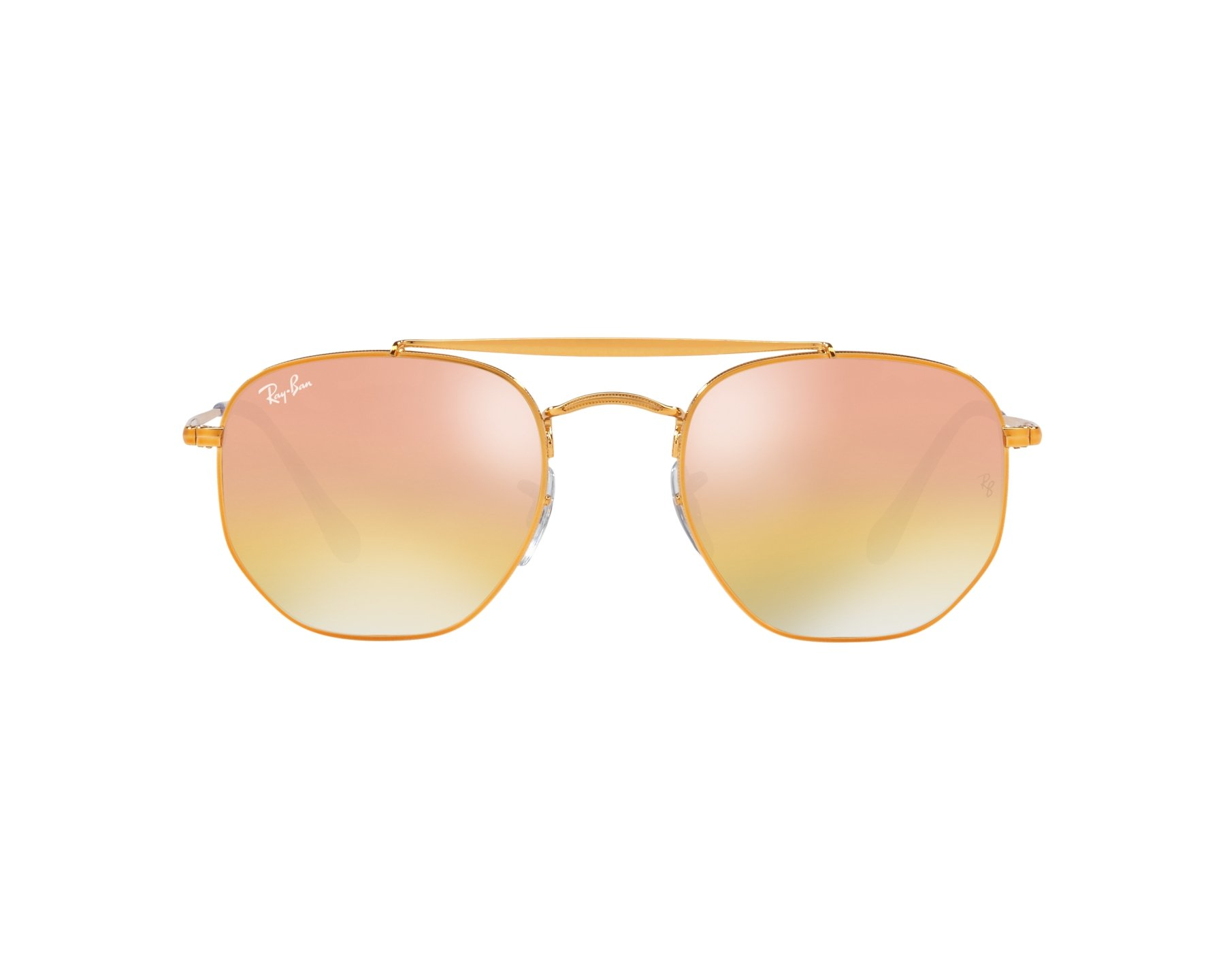 Ray-Ban Sonnenbrille RB-3648 9001l1 gold - Gläser: grau-braun - Visionet