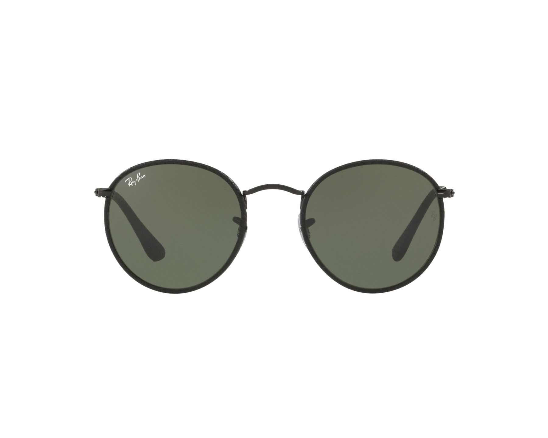 RAY BAN RAY-BAN Sonnenbrille »ROUND CRAFT RB3475Q«, schwarz, 9040 - schwarz/grün