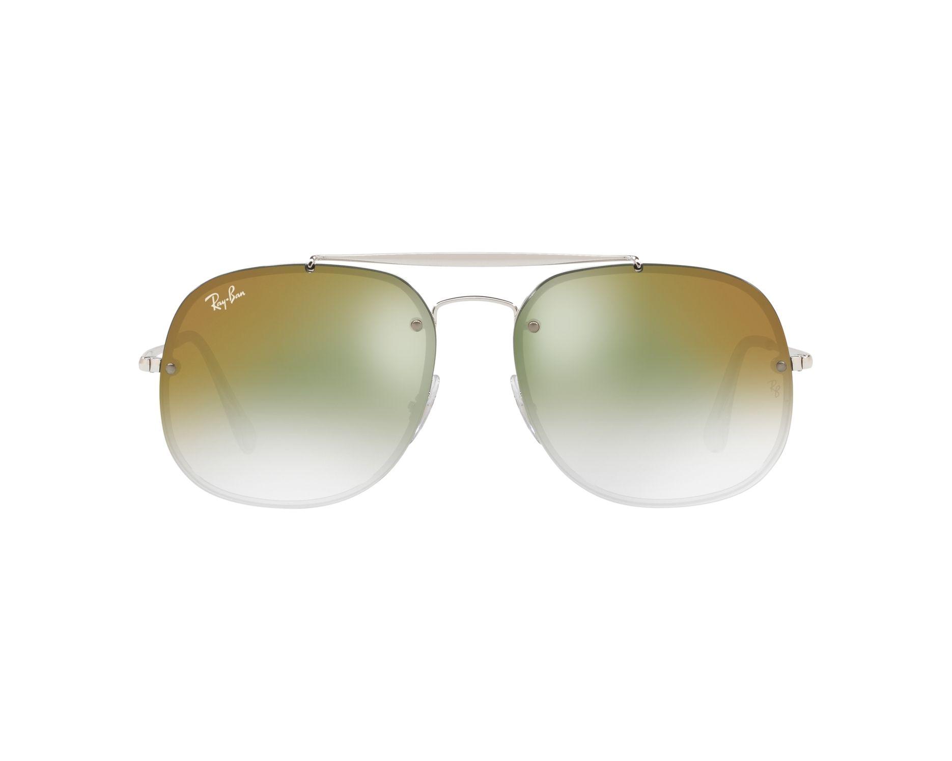 RAY BAN RAY-BAN Sonnenbrille » RB3583N«, grau, 004/13 - grau/braun