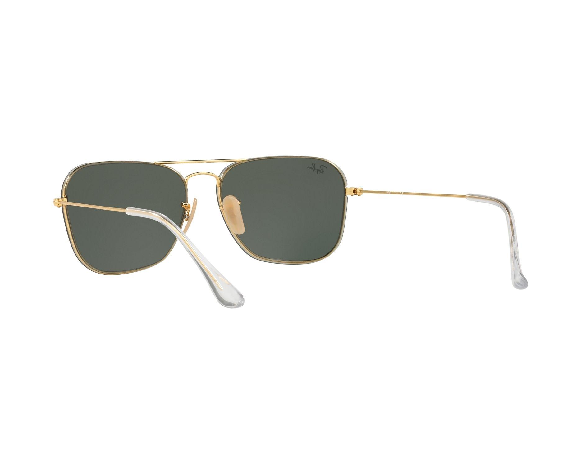 Ray-Ban RB3603 Sonnenbrille Gold 001/71 56mm Kg6z2l