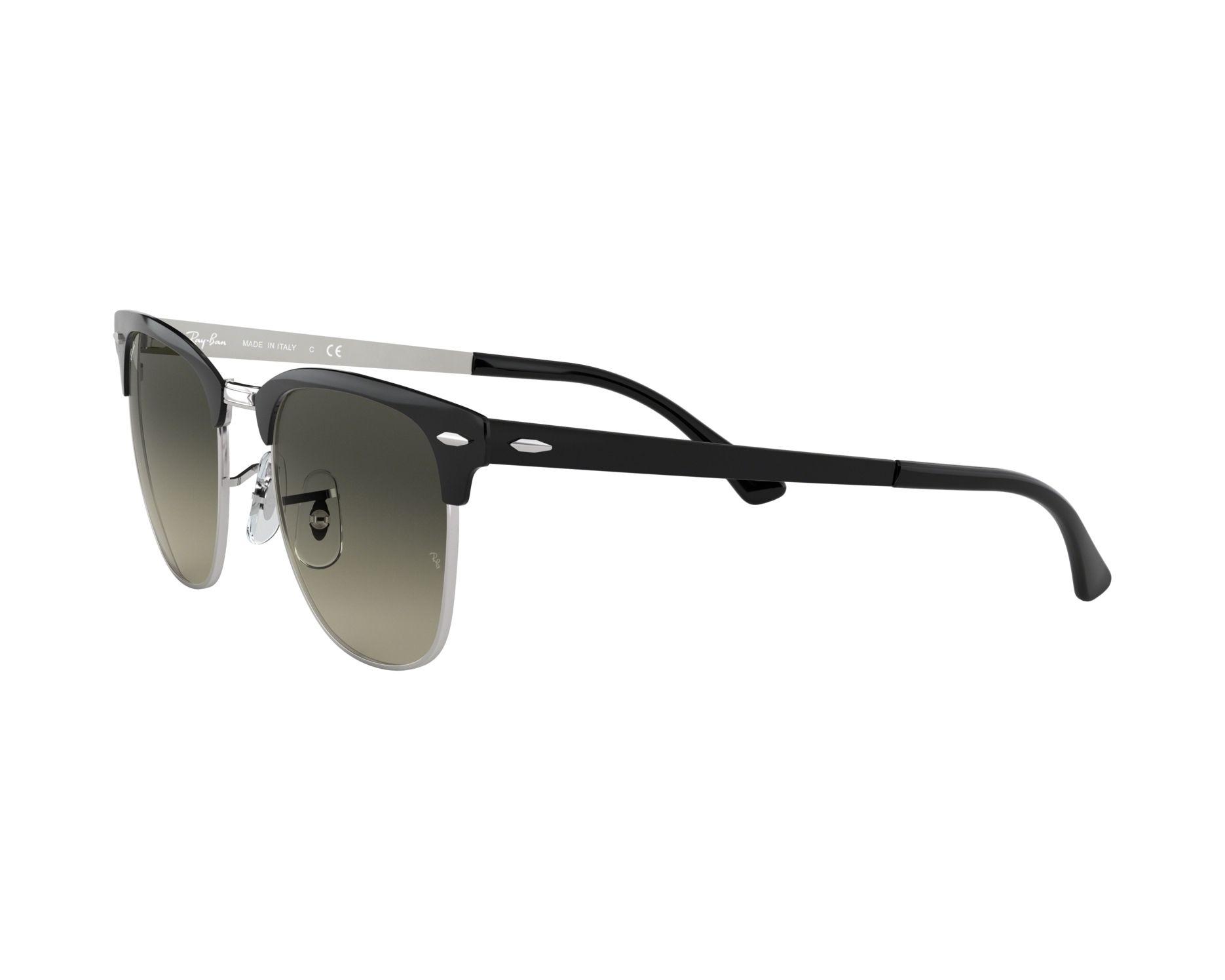 Ray-Ban RB3716 Sonnenbrille Silber/ Schwarz 900471 51mm KgKYdLX