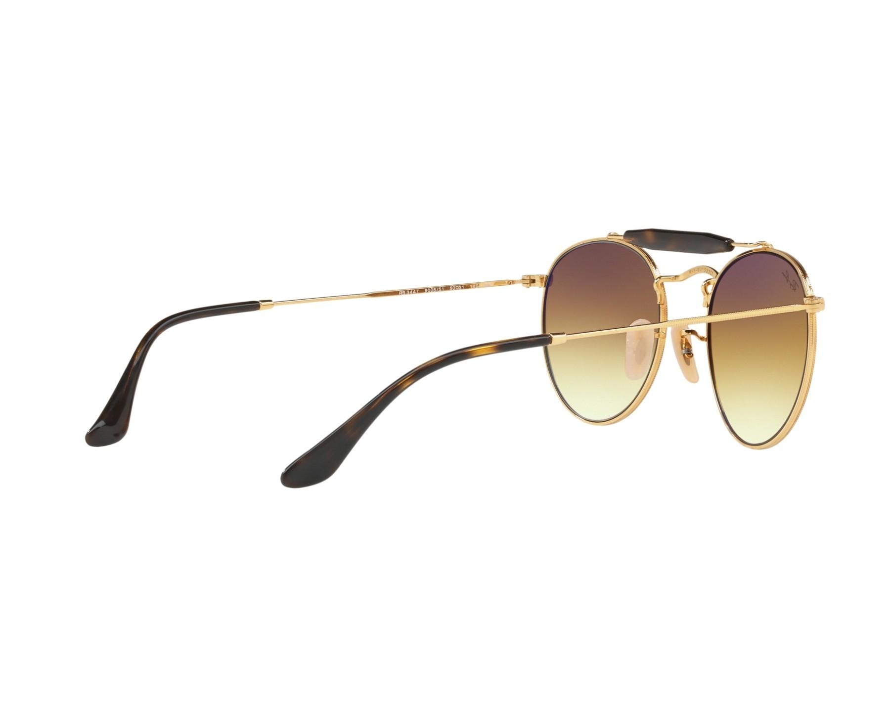 Ray-Ban RB3747 Sonnenbrille Gold / Braun 900851 50mm ZkpKf4d
