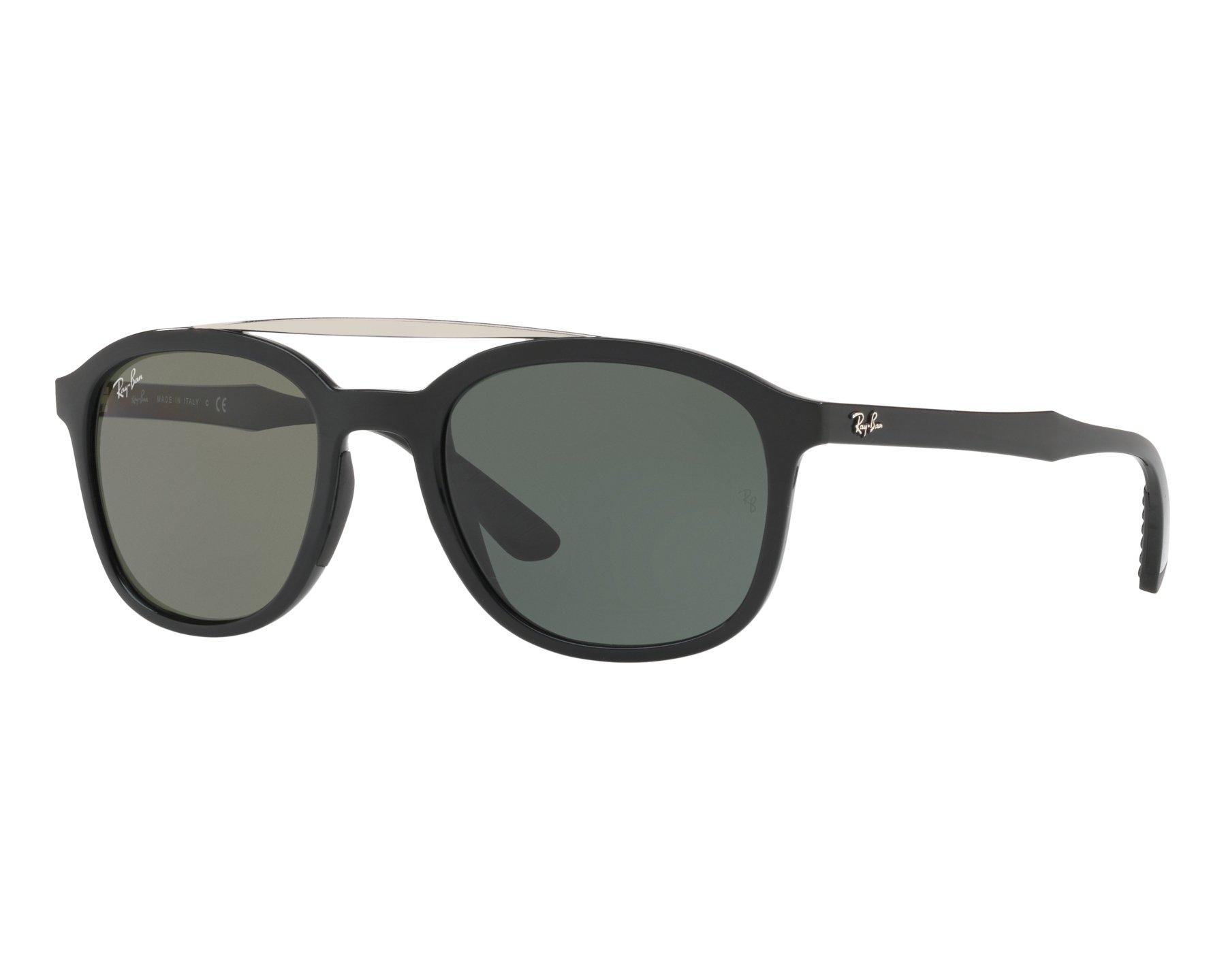 RAY BAN RAY-BAN Herren Sonnenbrille » RB4290«, schwarz, 601S55 - schwarz/blau
