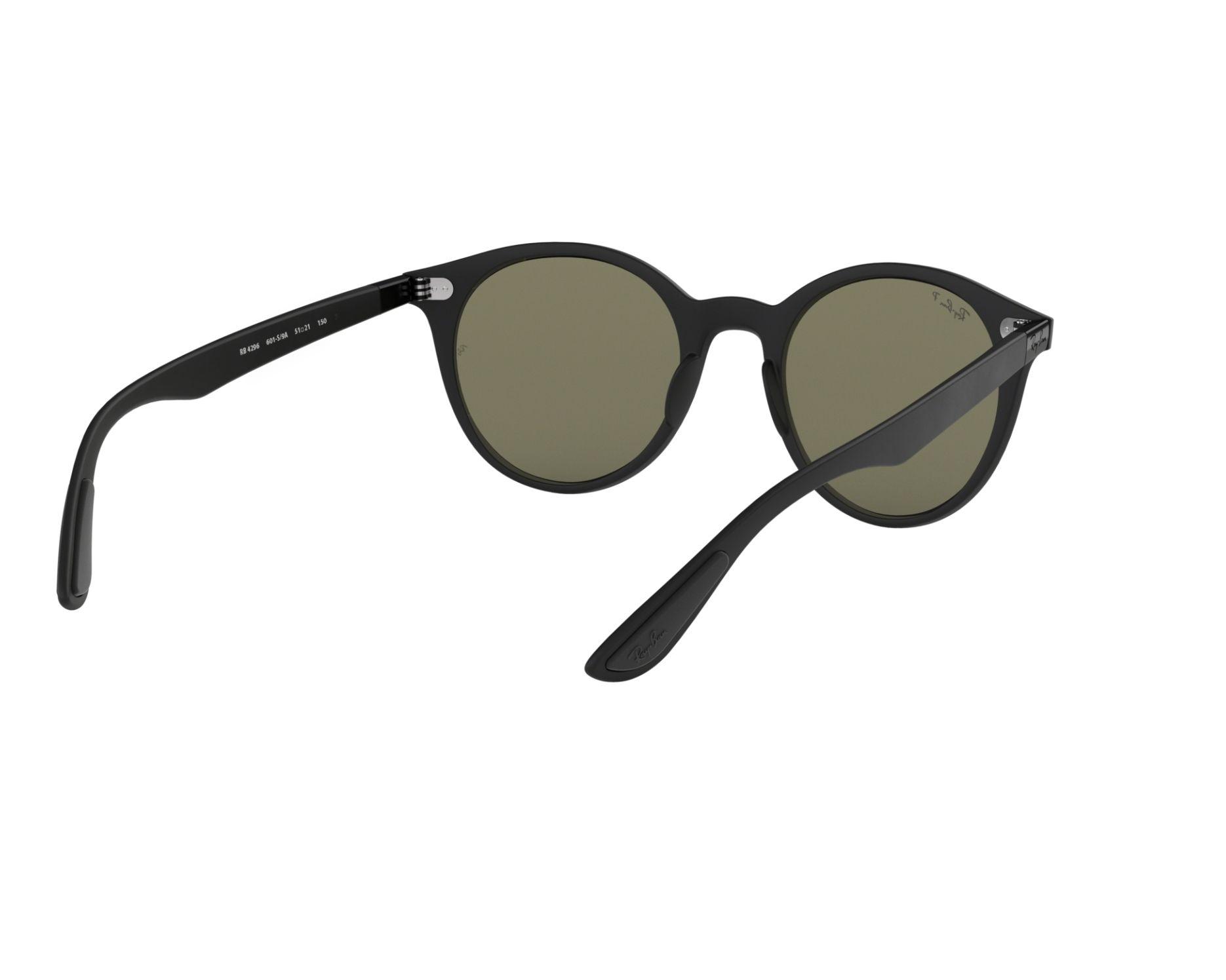 RAY BAN RAY-BAN Sonnenbrille » RB4296«, schwarz, 601S9A - schwarz/grün