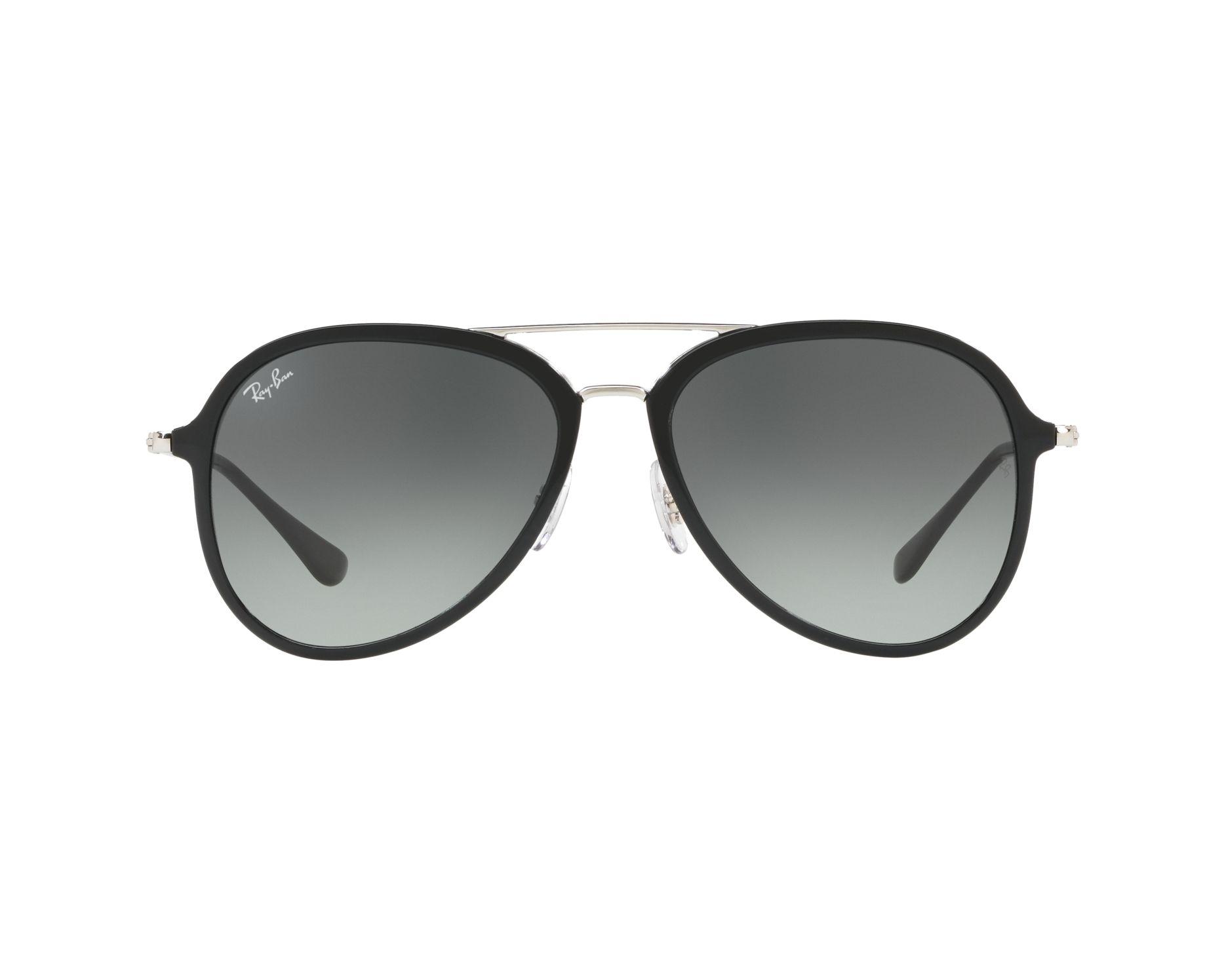 RAY BAN RAY-BAN Sonnenbrille » RB4298«, schwarz, 601/71 - schwarz/grau