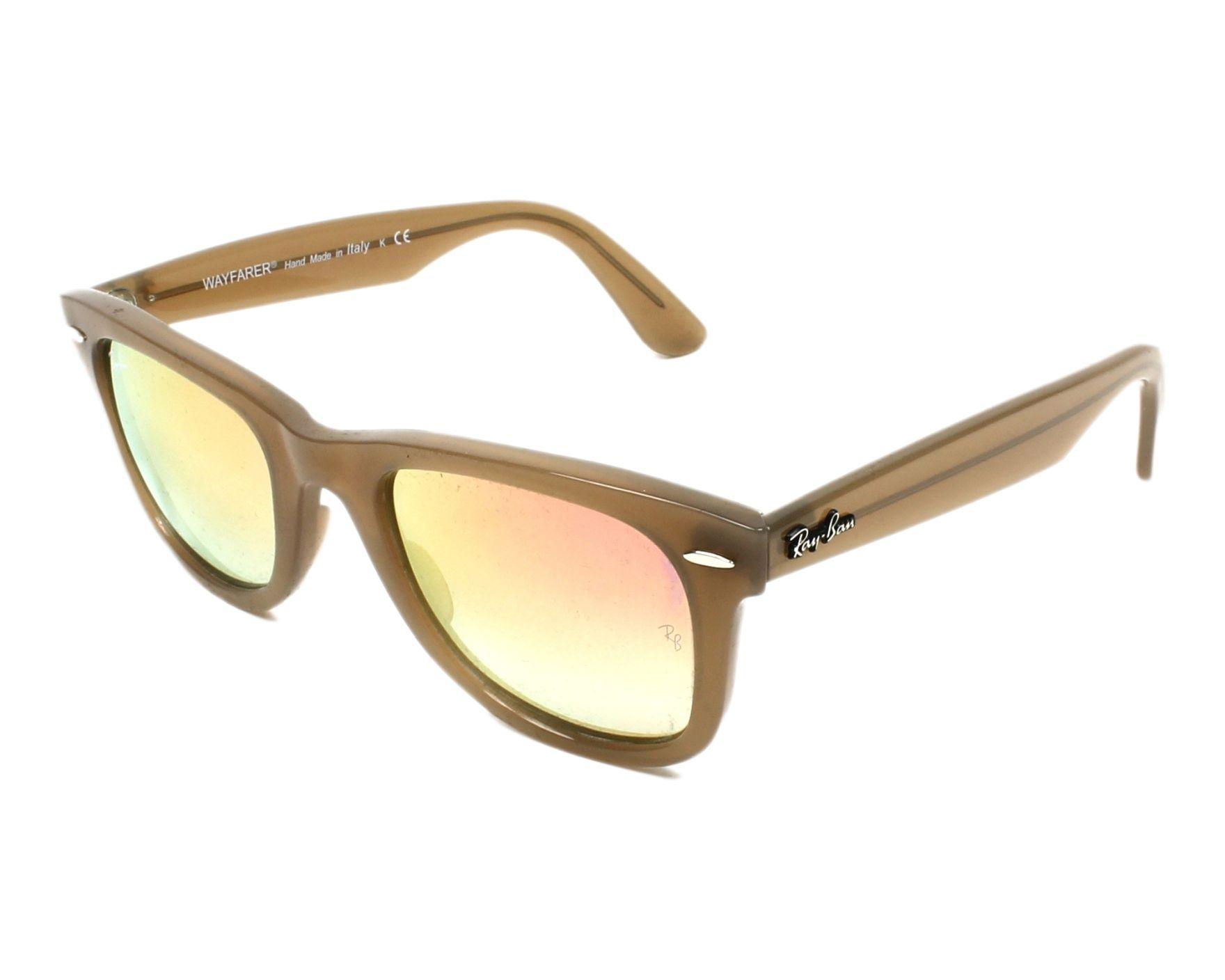 Ray-Ban RB4340 Sonnenbrille Beige 61667Y 50mm EfapOk