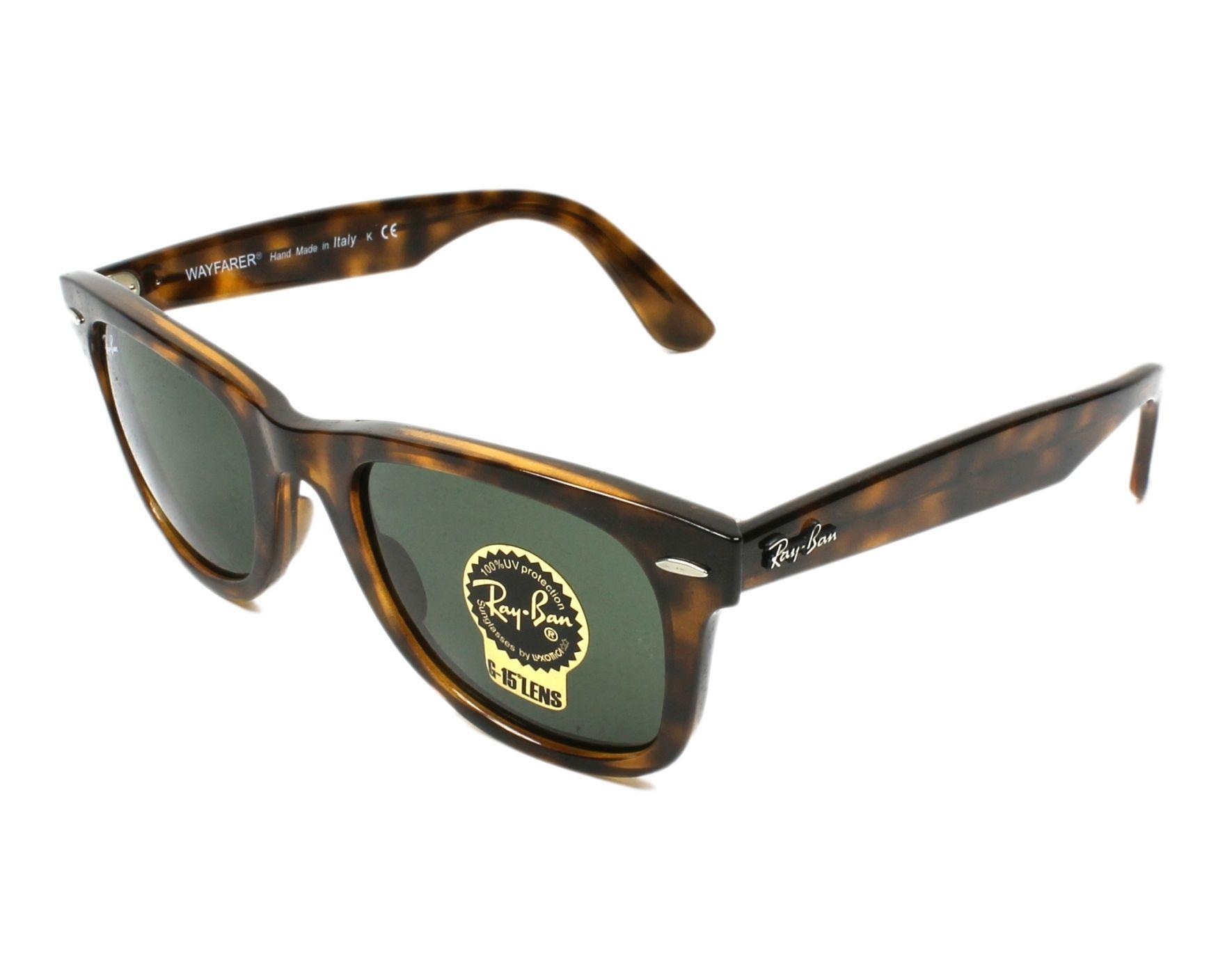 Ray-Ban RB4340 Sonnenbrille Havana 710 50mm GlLIbGB