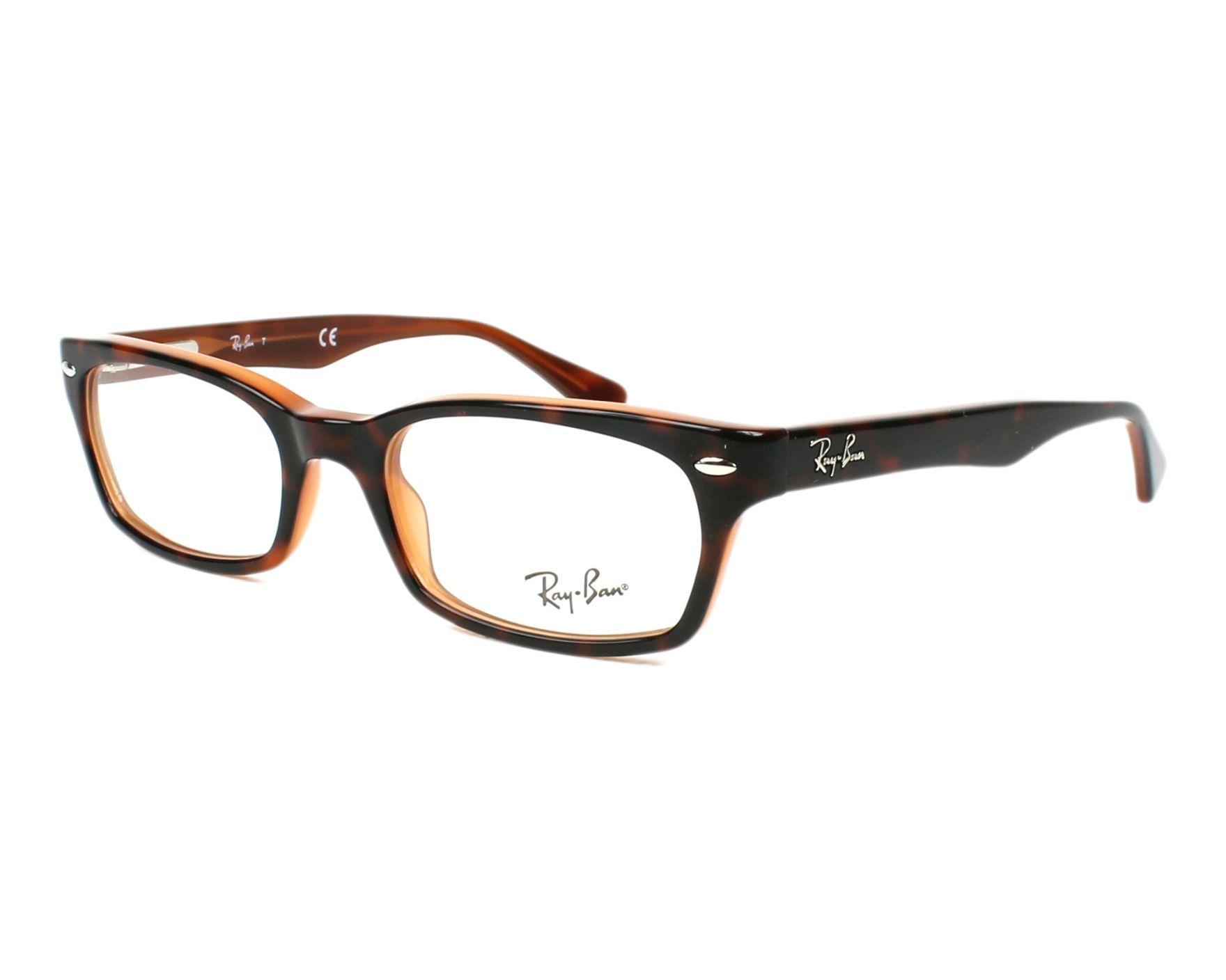 Ray-Ban Kunststoff Brille RX 5150 2034 Gr.50 in der Farbe schwarz transparent Jlih28yaE