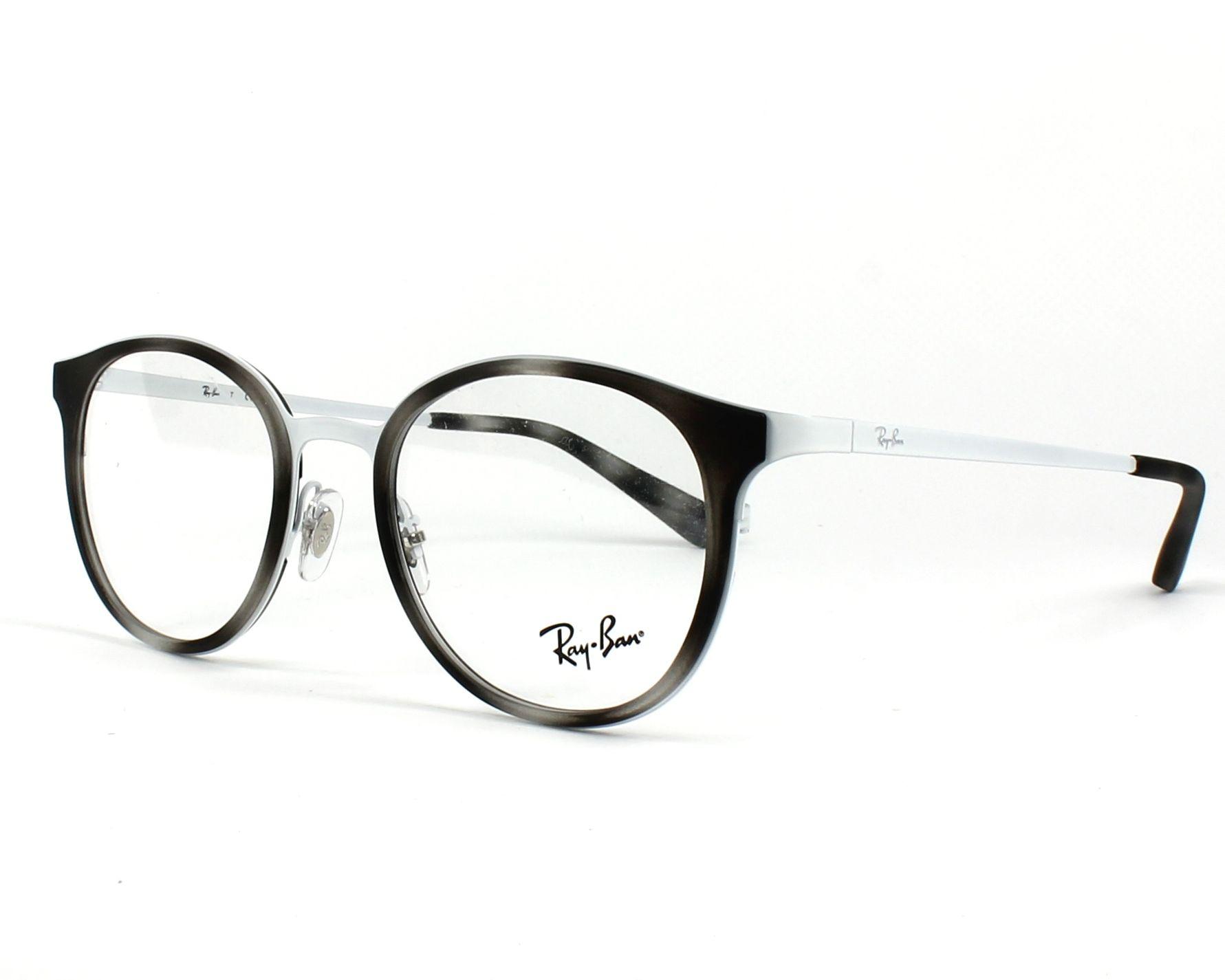 RAY BAN RAY-BAN Damen Brille » RX6372M«, schwarz, 2509 - schwarz
