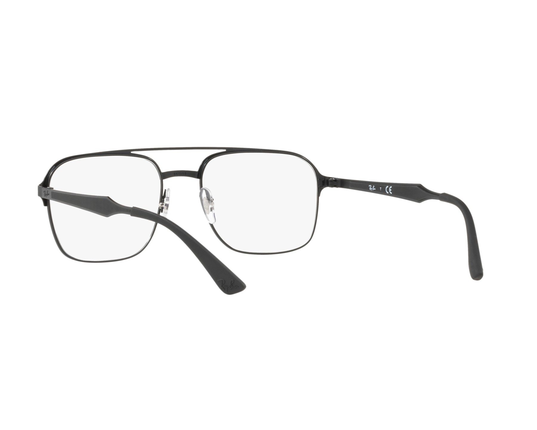 RAY BAN RAY-BAN Brille » RX6404«, schwarz, 2944 - schwarz