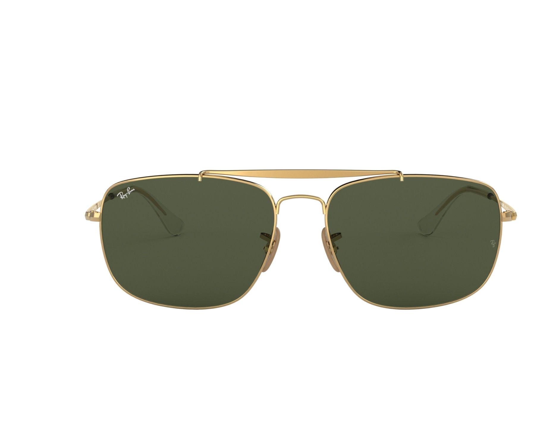 Ray-Ban Sonnenbrille RB-3560 001 gold - Gläser: brau-grün - Visionet