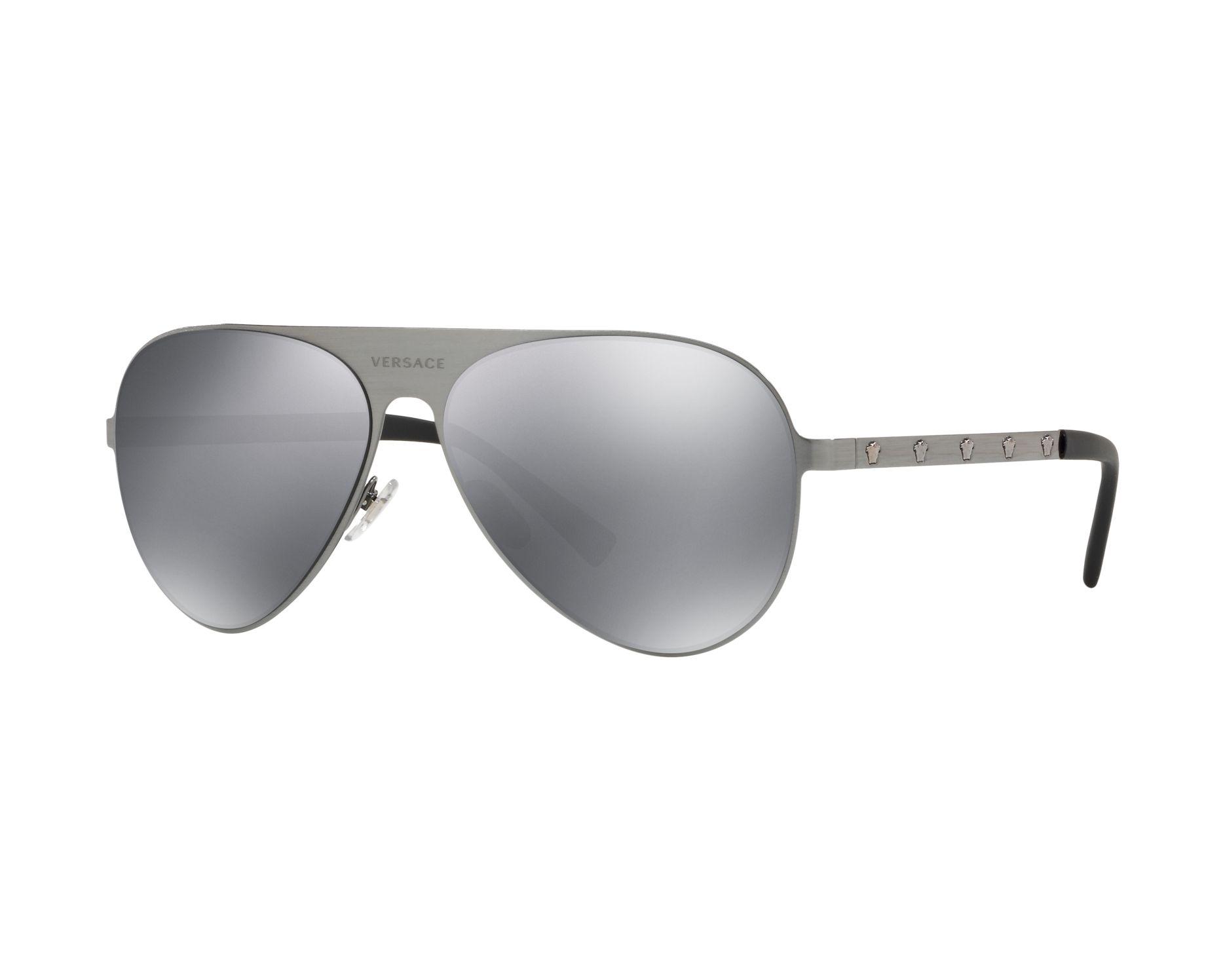 Versace Sonnenbrille » VE2189«, grau, 12626G - grau/schwarz