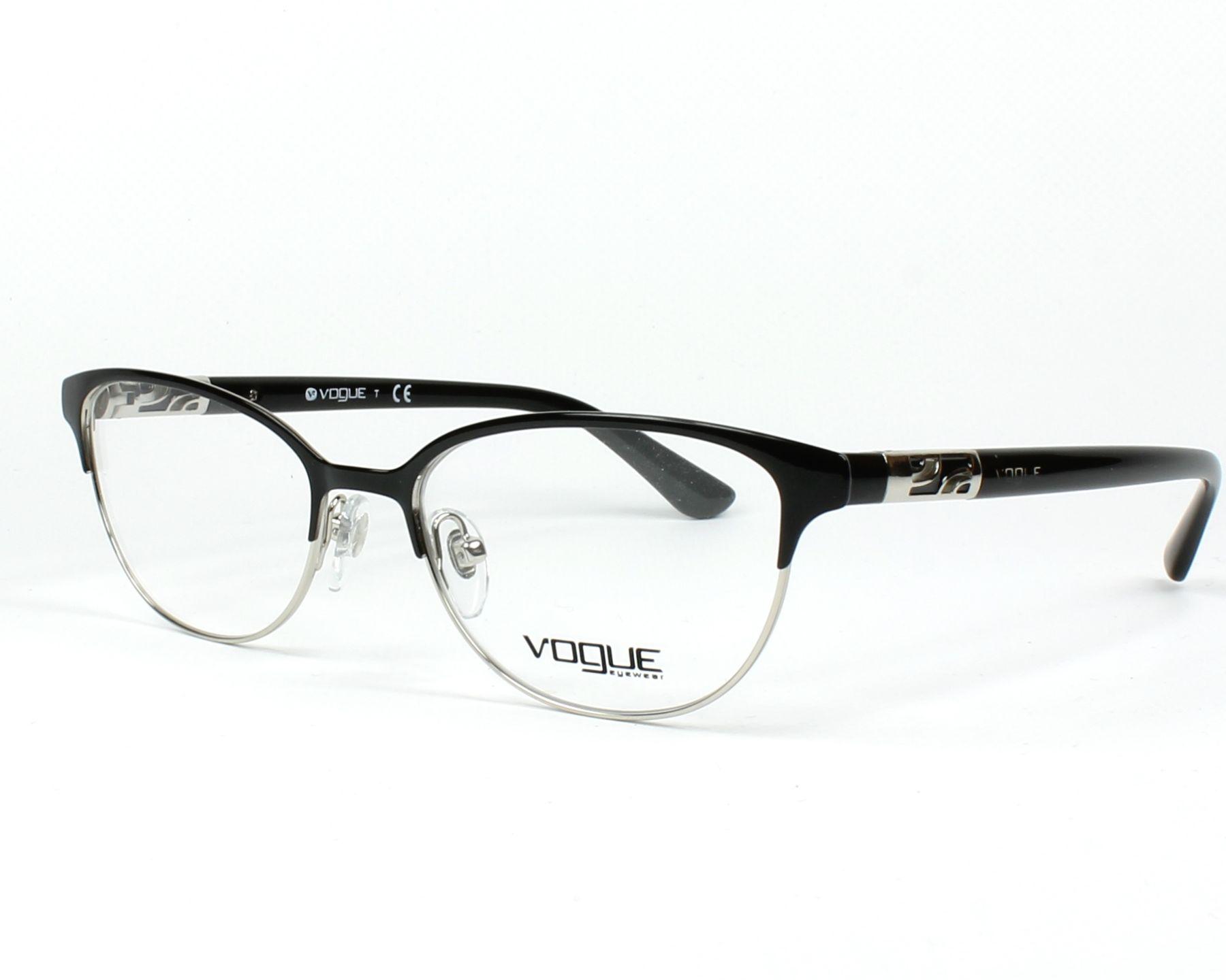 9545569a1b6 Brillen Vogue VO-4066 352 51-17 schwarz Profilansicht